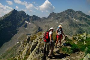Hiking in Carpathians